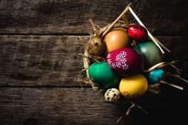 Páscoa feliz e saudável!