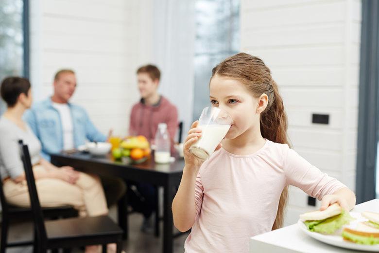 A intolerância a lactose pode começar na infância