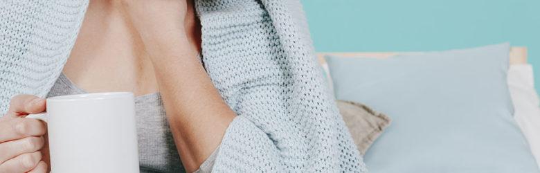Durante o inverno é comum surgirem dores de garganta