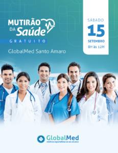 Diversas especialidades médicas estarão presentes no Mutirão da Saúde.