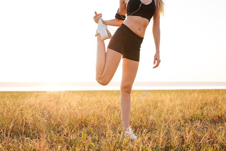 Uma das maneiras de prevenir trombose é praticando exercícios regularmente.