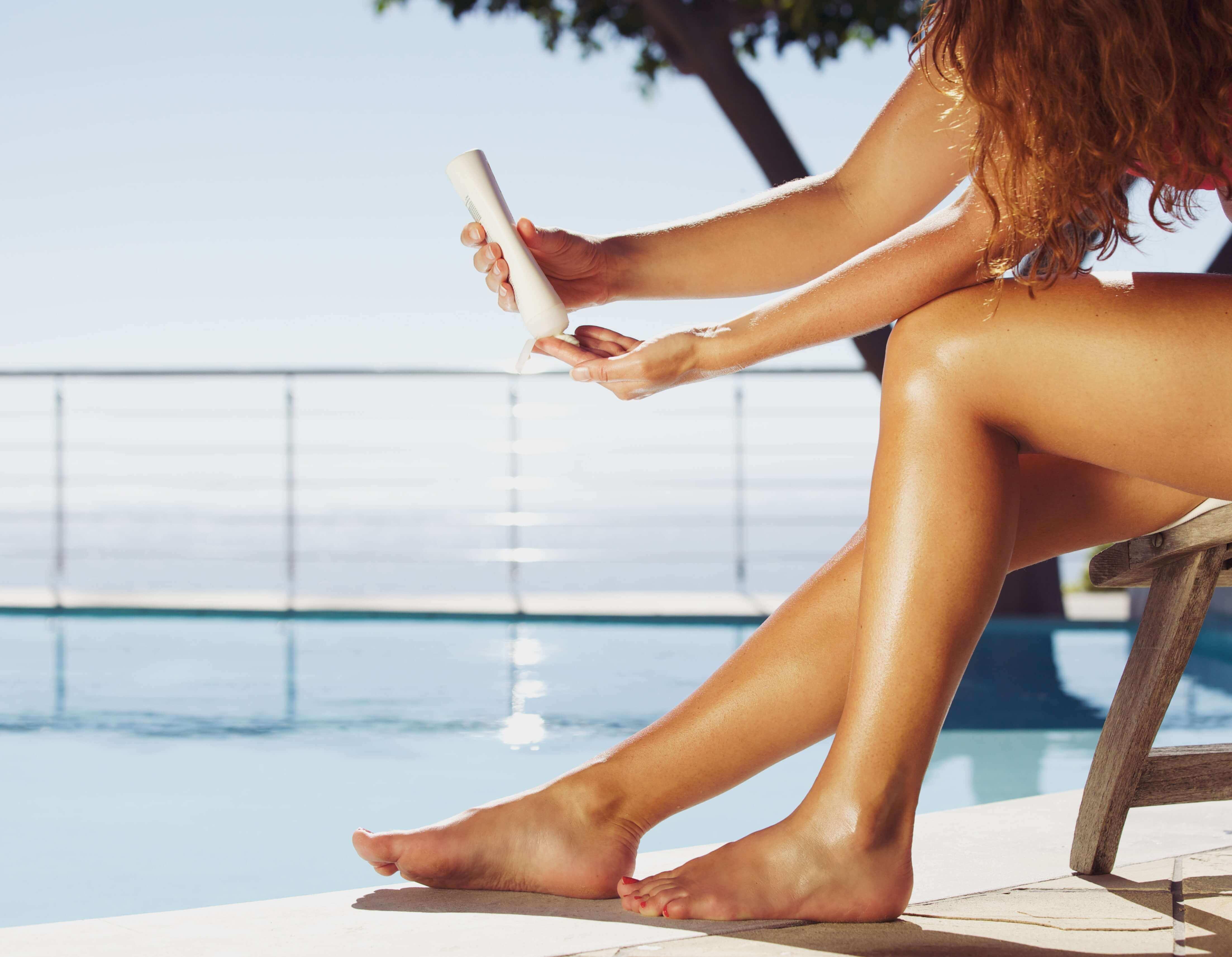 Utilizar protetor solar é uma ótima forma de proteger contra o câncer de pele.